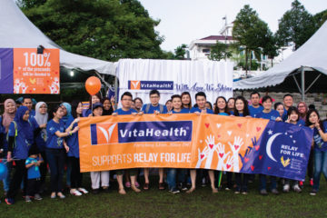 VitaHealth Malaysia Supplement: Relay For Life 2017 Race Photo - Enriching Lives With Supplement For Men & Women, Such As Liver Supplements, Eye Supplements, Joint Care Supplement