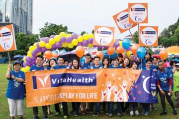 VitaHealth Malaysia Supplement: Relay For Life 2017 Team Photo - Enriching Lives With Supplement For Men & Women, Such As Liver Supplements, Eye Supplements, Joint Care Supplement