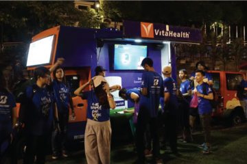 VitaHealth Malaysia Supplement: Relay For Life 2017 Booth - Enriching Lives With Supplement For Men & Women, Such As Liver Supplements, Eye Supplements, Joint Care Supplement