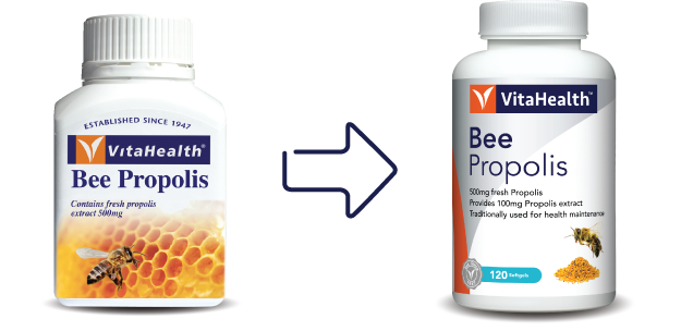 VitaHealth Malaysia Supplement: New Look, Same Quality For Our Health Supplements - Bee-Propolis