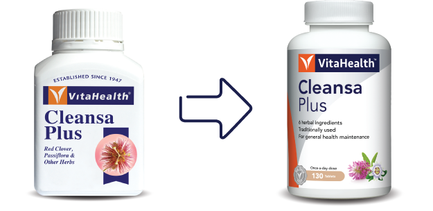 VitaHealth Malaysia Supplement: New Look, Same Quality For Our Liver Supplements - Cleansa Plus