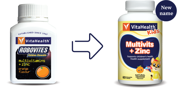 VitaHealth Malaysia Supplement: New Look, Same Quality For Our Kids Supplements - Kids Multivits + Zinc