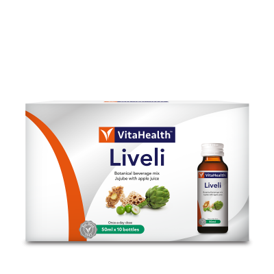VitaHealth Malaysia Liveli - Liver Supplements For Better Gastrointestinal & Liver Health