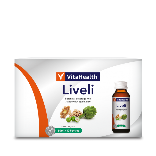 Liveli - Health Supplement For The Liver, Stomach & Intestines