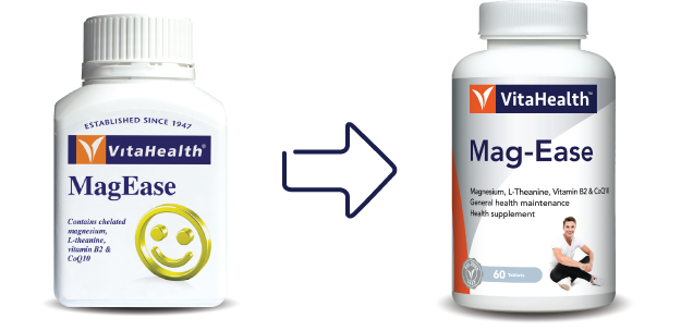 VitaHealth Malaysia Supplement: New Look, Same Quality For Our Health Supplements - Mag-Ease