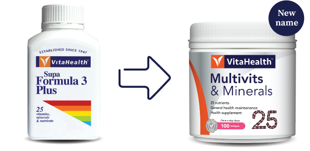 VitaHealth Malaysia Supplement: New Look, Same Quality For Our Health Supplements - Multivits & Minerals