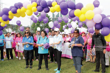 VitaHealth Malaysia Supplement: Relay For Life 2018 Ribbon Cutting - Enriching Lives With Our Liver Supplements, Eye Supplements, Joint Care Supplement, Supplement For Men & Women