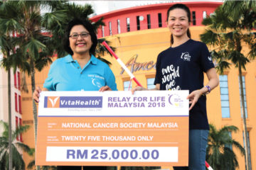 VitaHealth Malaysia Supplement: Relay For Life 2018 Donation - Enriching Lives With Our Liver Supplements, Eye Supplements, Joint Care Supplement, Supplement For Men & Women