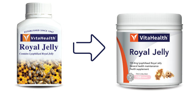VitaHealth Malaysia Supplement: New Look, Same Quality For Our Health Supplements - Royal Jelly