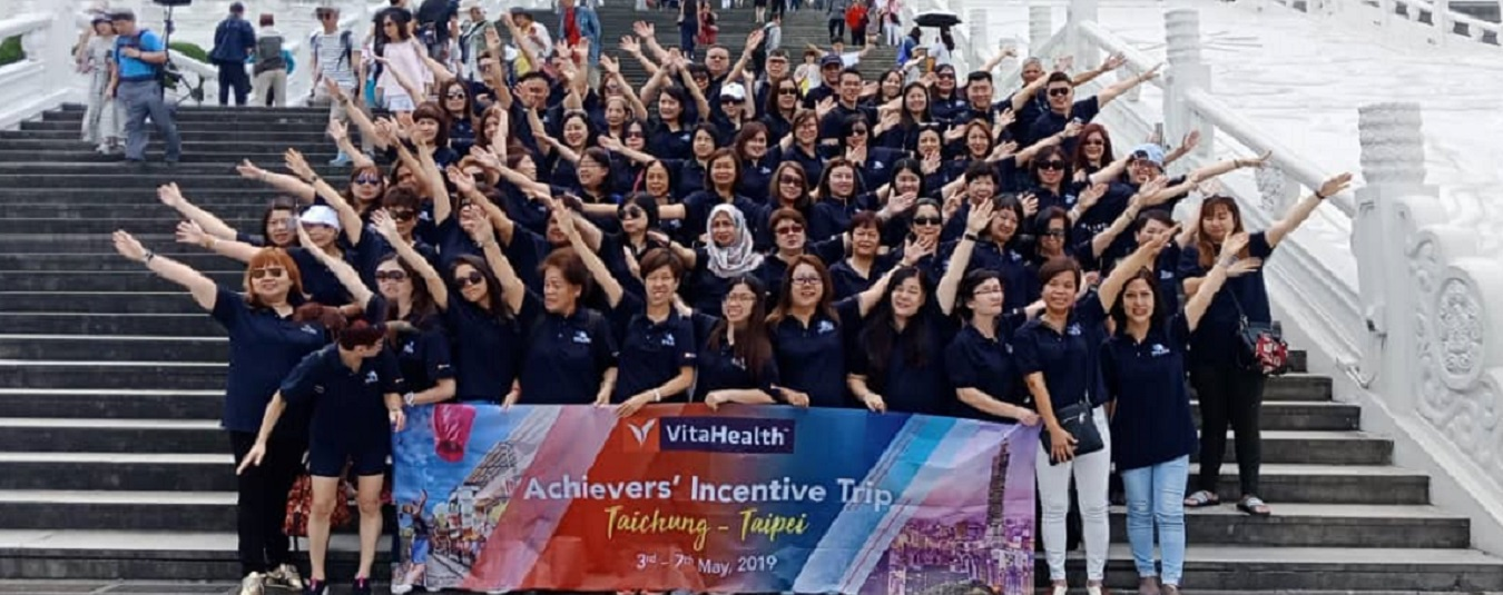 VitaHealth Malaysia Supplement: Achievers' Incentive Trip 2019 Feature Banner - Enriching Lives With Our Supplement For Men & Women, Such As Liver Supplements, Eye Supplements, Joint Care Supplement
