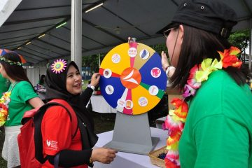 VitaHealth Malaysia Supplement: Relay For Life 2019 Spin The Wheel - Enriching Lives With Our Liver Supplements, Eye Supplements, Joint Care Supplement, and Supplement For Men & Women