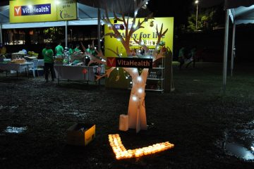 VitaHealth Malaysia Supplement: Relay For Life 2019 Light Display - Enriching Lives With Our Supplement For Men & Women, Such As Liver Supplements, Eye Supplements and Joint Care Supplement