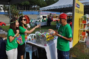 VitaHealth Malaysia Supplement: Relay For Life 2019 Fun At The Booth - Enriching Lives With Our Supplement For Men & Women, Such As Liver Supplements, Eye Supplements and Joint Care Supplement