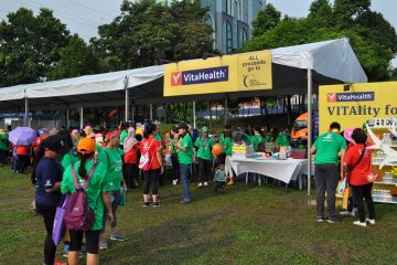 VitaHealth Malaysia Supplement: Relay For Life 2019 Booth - Enriching Lives With Our Supplement For Men & Women, Such As Liver Supplements, Eye Supplements and Joint Care Supplement