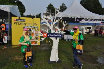 VitaHealth Malaysia Supplement: Relay For Life 2019 Display - Enriching Lives With Our Supplement For Men & Women, Such As Liver Supplements, Eye Supplements and Joint Care Supplement