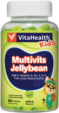 VitaHealth Malaysia Supplement: Multivits Jellybean Article - Kids Supplements With 12 Key Vitamins And Minerals