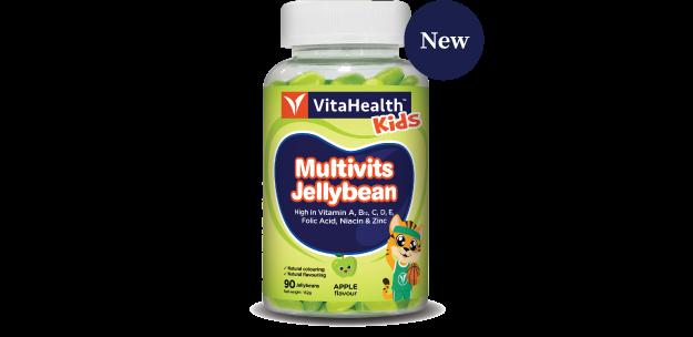VitaHealth Malaysia Supplement: New Kids Supplements - Kids Multivits Jellybean