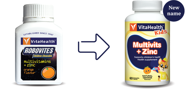 VitaHealth Malaysia Supplement: New Look For Our Kids Supplements - Kids Mutivits + Zinc