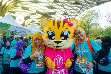 VitaHealth Malaysia Supplement: #KamiCaring Run Eat Emma - Enriching The Lives of The Next Generation With Our Kids Supplements